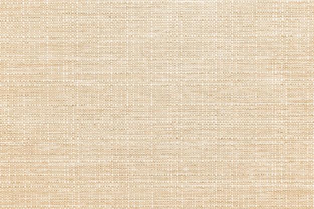 Fond texturé textile lin jaune