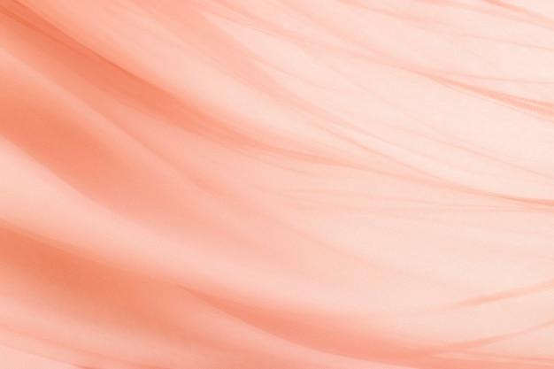 Fond de texture textile pêche pour bannière de blog