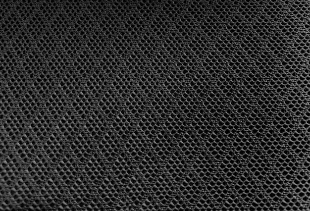 Fond de texture textile tissu maille couleur noire
