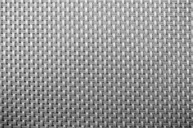 Fond de texture tissée en osier gris