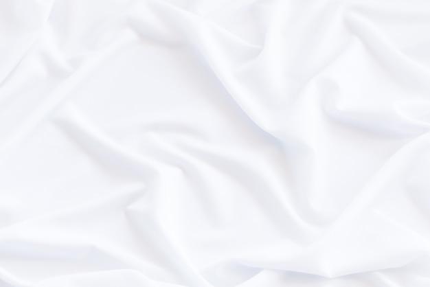 Fond et texture de tissu blanc