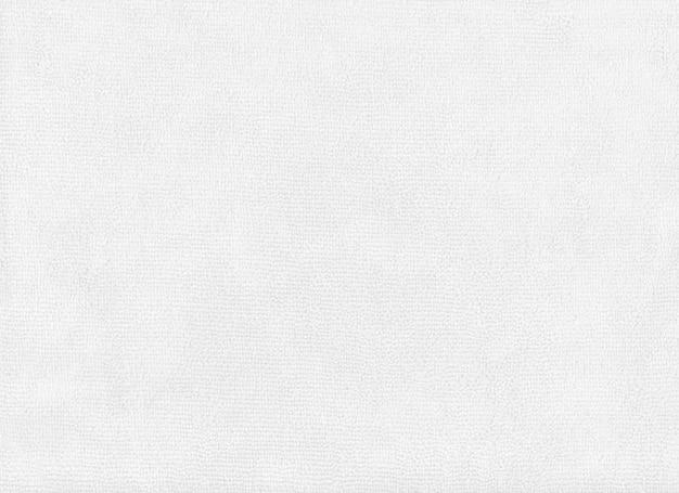 Fond de texture de tissu blanc.