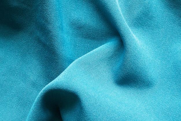 Fond de texture tissu bleu vêtements