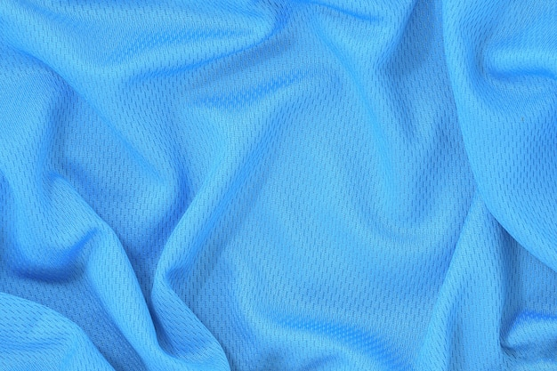 Fond de texture de tissu bleu.