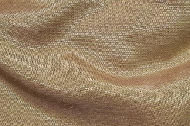 Fond de texture de tissu brun closeup