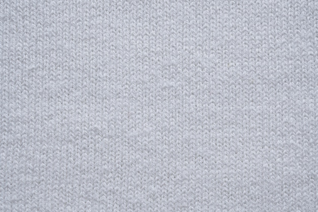 Fond de texture de tissu de coton blanc gros plan