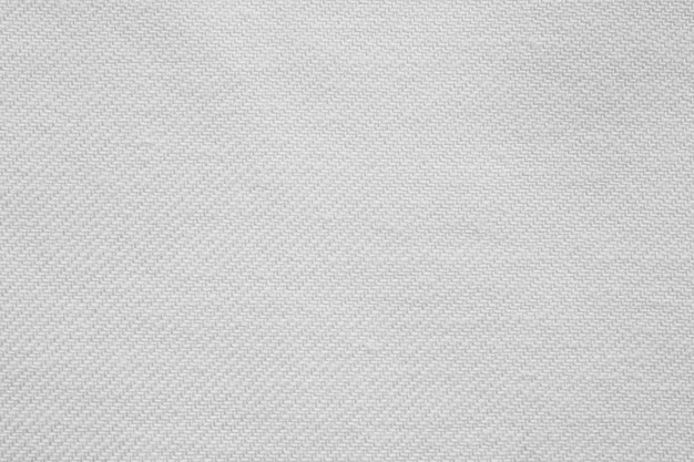 Fond de texture de tissu de coton blanc