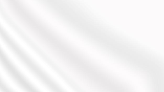 Fond de texture de tissu flou doux blanc abstrait pour affiche de bannière de site web et élément de conception de carte d'invitation