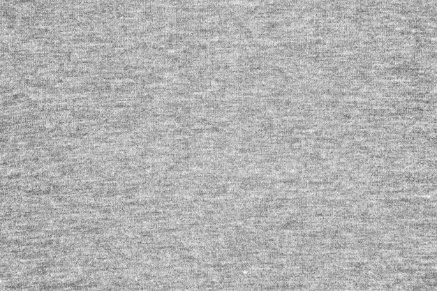 Fond de texture tissu gris jersey.