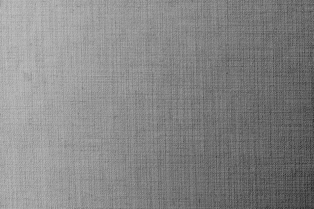 Fond texturé en tissu gris uni