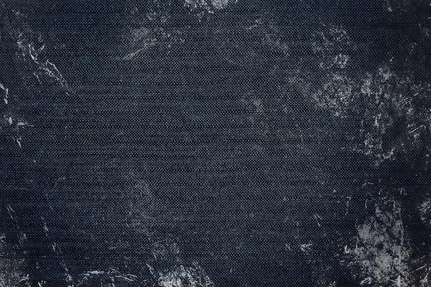 Fond texturé tissu grungy bleu marine