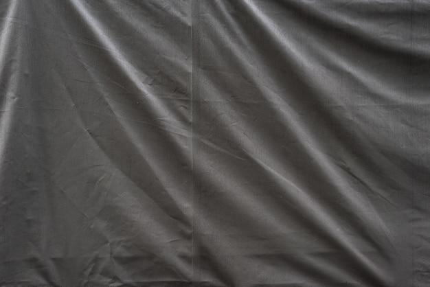 Fond de texture de tissu industriel froissé gris
