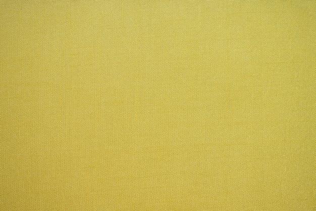 Fond de texture de tissu jaune abstrait