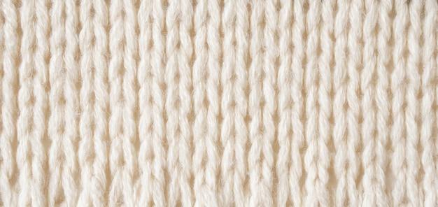 Fond de texture de tissu de laine tricoté