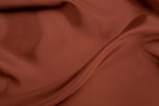 Fond de texture de tissu marron, abstrait, texture gros plan de tissu