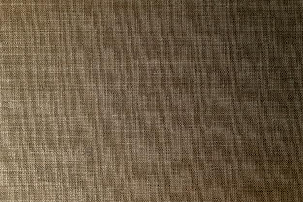 Fond texturé en tissu marron foncé