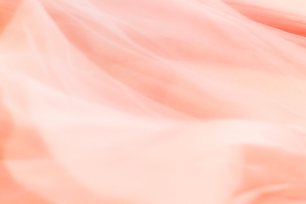 Fond de texture de tissu rose corail pour bannière de blog