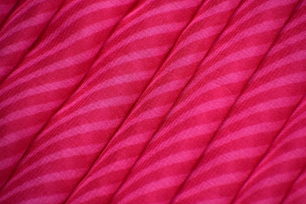 Fond de texture de tissu rouge