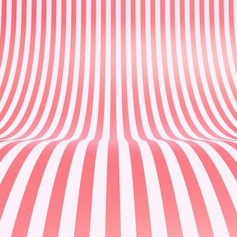 Fond de texture de tissu de soie rose bonbon rayé vide