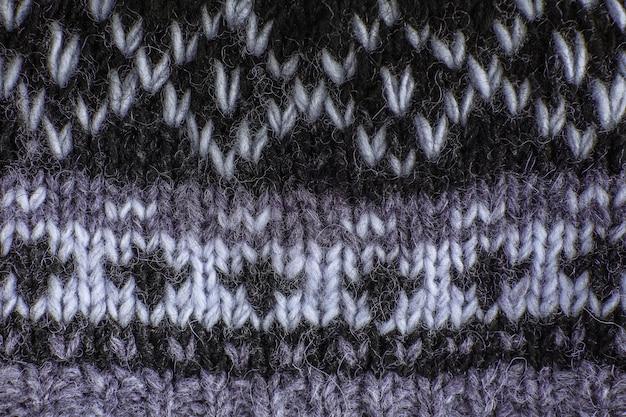 Fond texturé en tissu tricoté véritable.