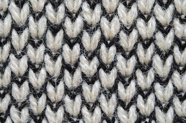 Fond de texture de tissu tricoté