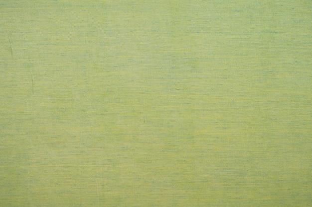 Fond de texture de tissu vert abstrait