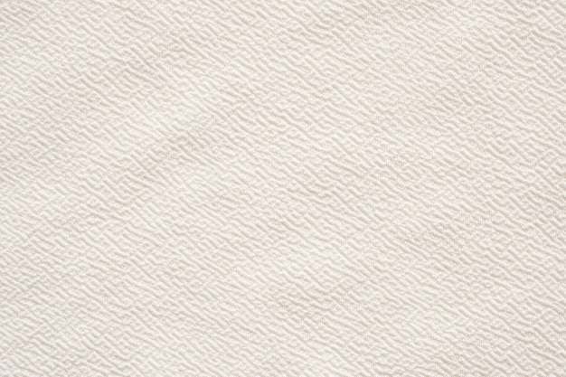 Fond de texture de tissu de vêtements blancs