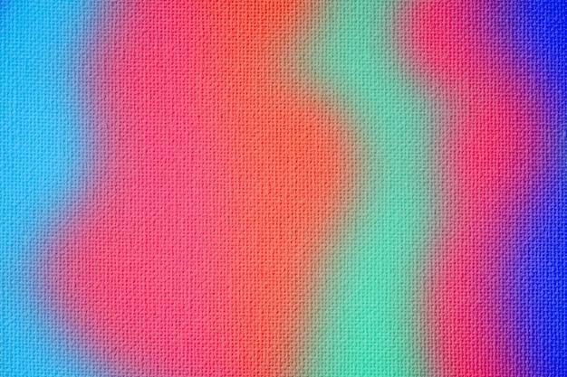 Fond de texture de toile colorée