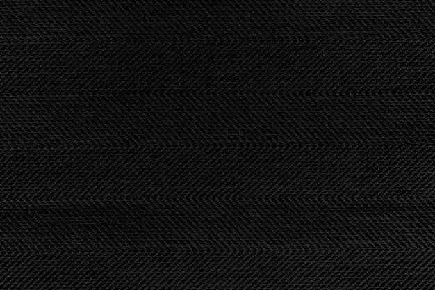 Fond texturé en toile de jute noire