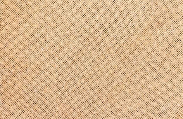 Fond et texture de toile de jute