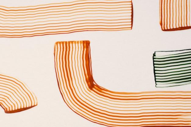 Fond texturé ton de la terre dans l'art abstrait marron