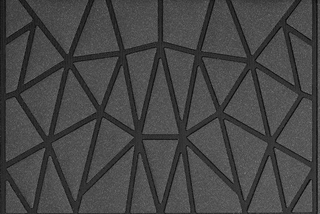 Fond de texture de triangles noirs..
