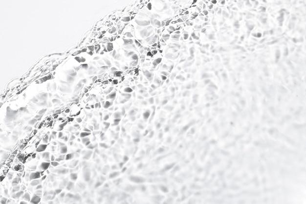 Fond de texture de vague d'eau, conception blanche