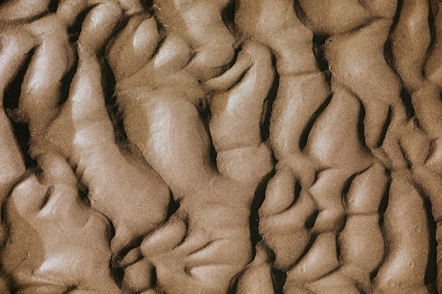Fond de texture de vague de sable de plage