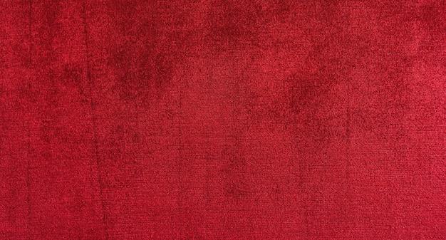 Fond de texture de velours rouge
