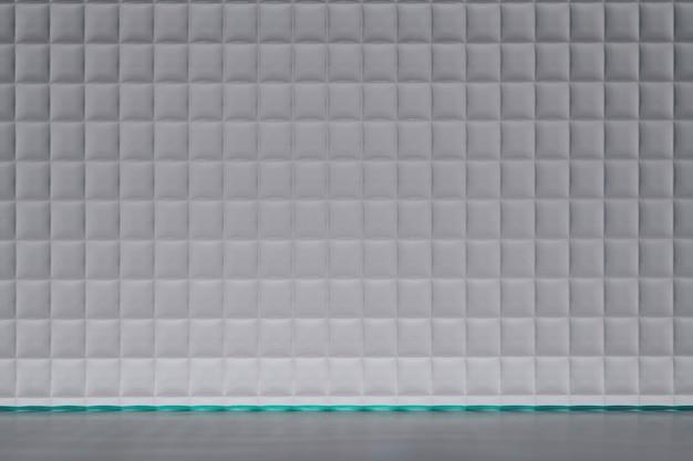 Fond avec texture de verre grille