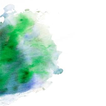 Fond texturé vert et bleu