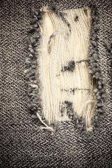 Fond de texture vintage denim déchiré.