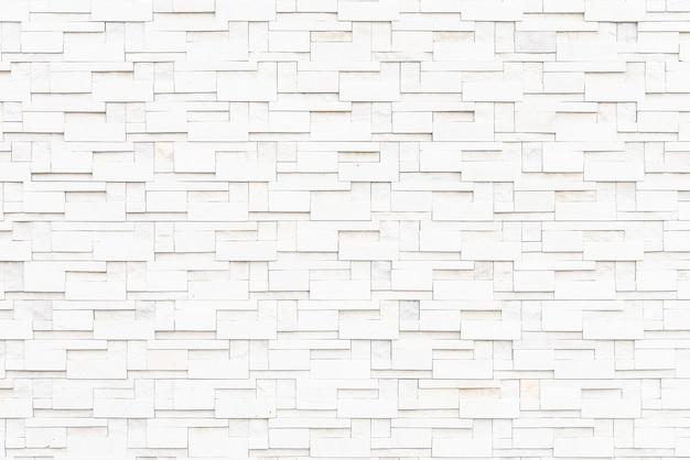 Fond de textures de mur de briques blanches