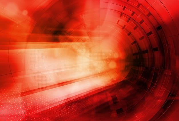 Fond de thème rouge graphique pour la publication de nouvelles