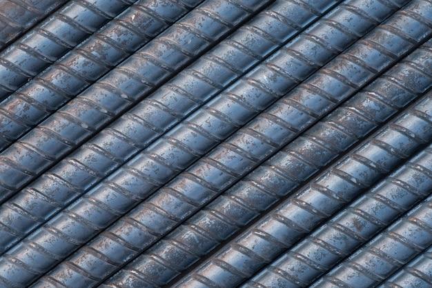 Fond de tiges d'acier et de la texture