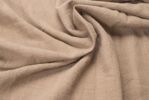 Fond de tissu en coton beige
