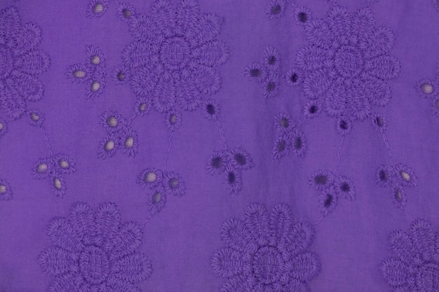 Fond de tissu dentelle violet, tissu dentelle blanche