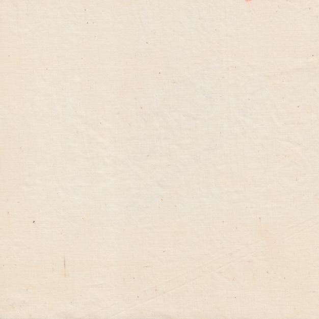 Fond de tissu écrasé blanc, texture de tissu crème