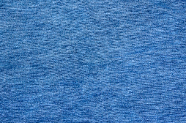 Fond de tissu en lin denim bleu rayé texturé