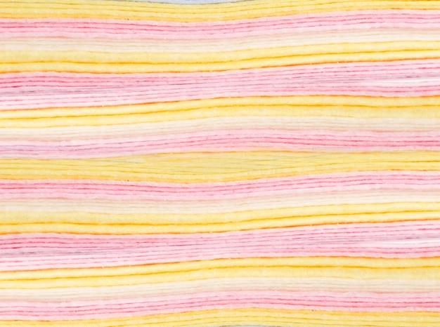 Fond de tissu plié