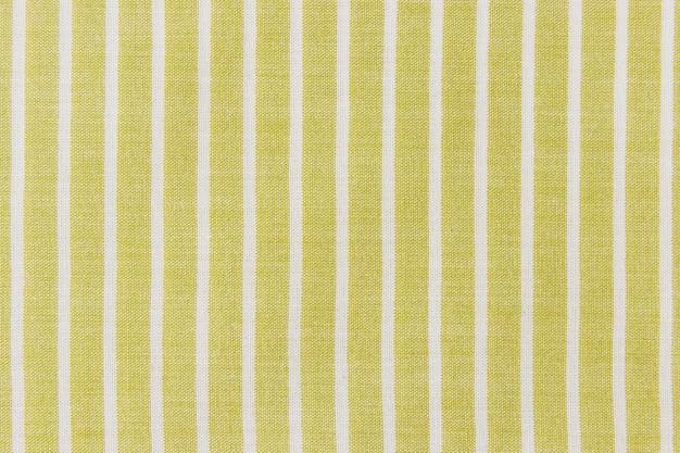 Fond de tissu à rayures en lin naturel