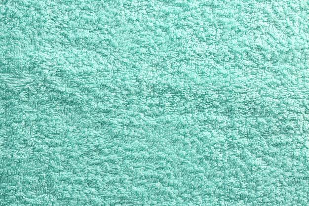 Fond de tissu texturé de couleur menthe