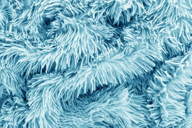 Fond de tissu tricoté bleu