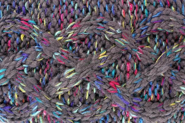 Fond de tissu tricoté